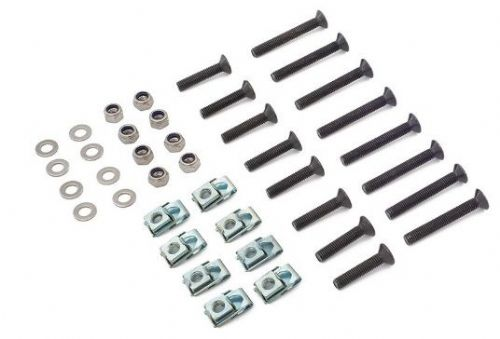 Off Road Monkeys Stainless Steel Black Hinge Mounting Kit - 4 Door